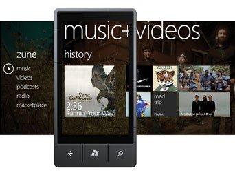 windows phone 7 Music Video Hub
