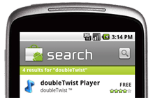 doubletwist androidmarket search