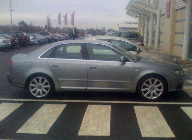Warren Coakleys Stolen Audi A4 found by Facebook post