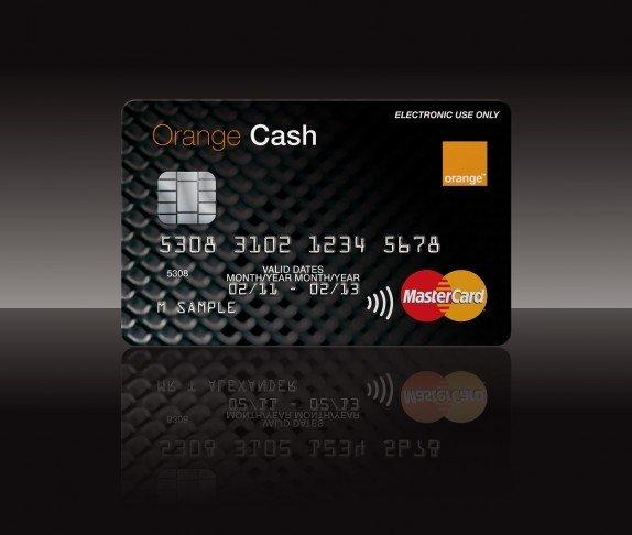 Orange Cash mastercard
