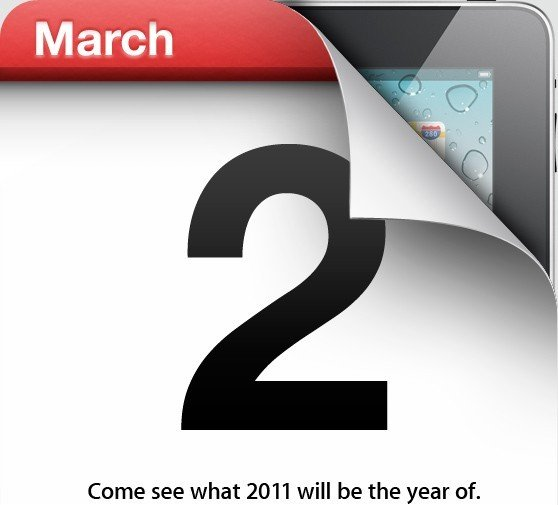 apple march 2nd 2011 ipad2 event