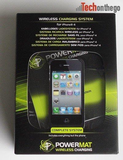 powermat iphone4 charging system box