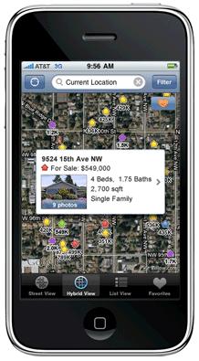 zillo iphone app