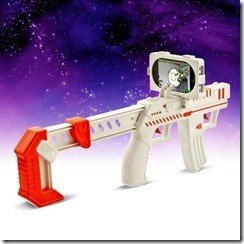 appBlaster augmented reality gun and game