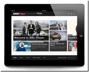 bbc iplayer global ipad app