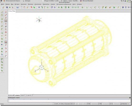 combination lock autocad design