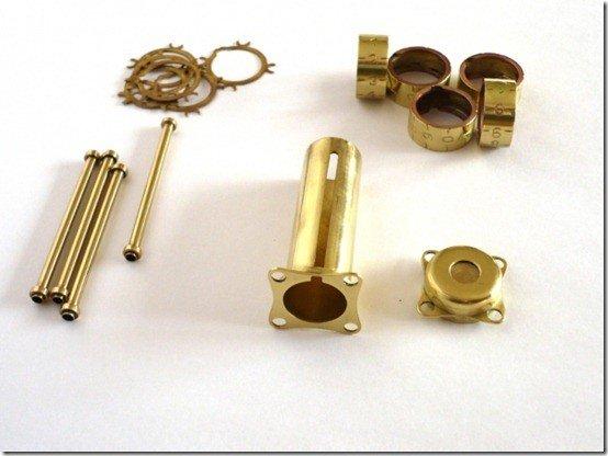combination lock components