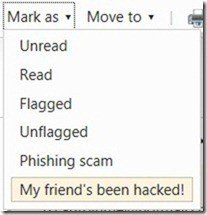 hotmail report a hacked account