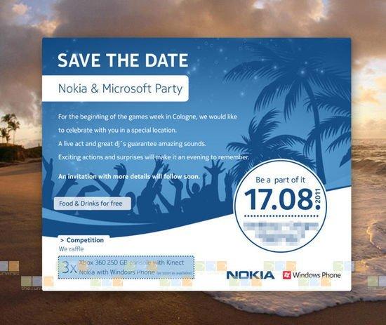 microsoft nokia event invite