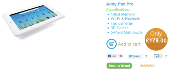 andypad pro and standard now available for pre-order