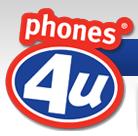 phones 4 u logo