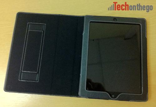 snugg ipad2 leather case open
