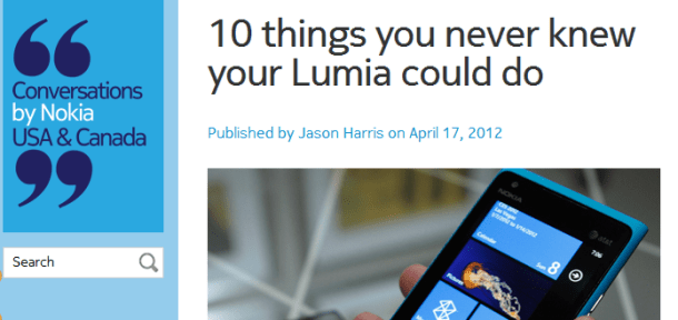 10 things you never knew your Lumia could do