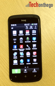 htc one s apps view