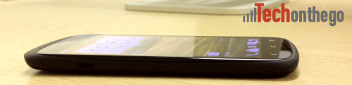 htc one s side view