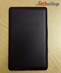 nexus7 soft grip back casing