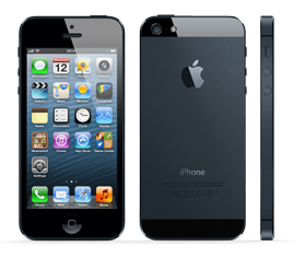 apple iphone 5 front back and side