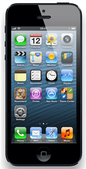 apple iphone5 front