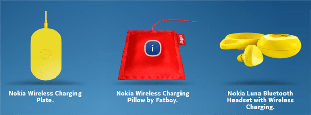 nokia lumia 820 and 920 qi wireless charging base plates