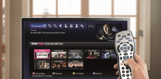 bbc iplayer now available on sky