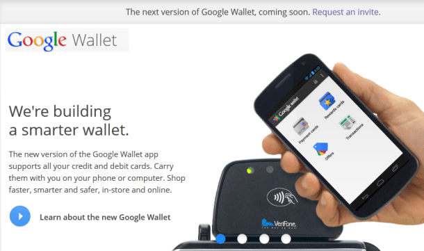 new version of google wallet coming soon
