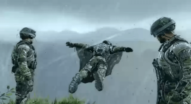 call of duty black ops 2 xbox360 wingsuit