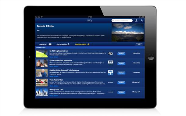 Sky Update Sky Go With Premium Downloads To Watch Offline