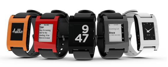 pebble smartwatch range start shipping january 23rd