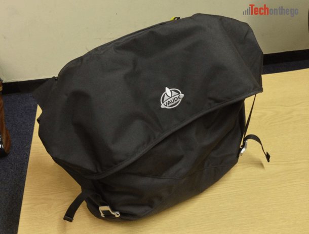 vaude mantis 17-7 laptop bag - closed front