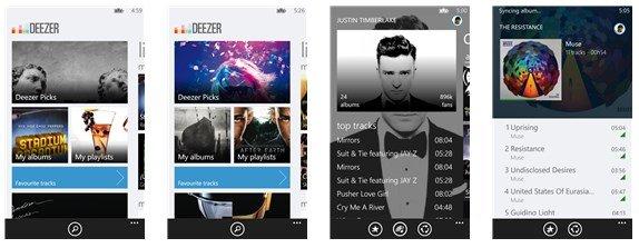 Deezer Announces New Windows Phone 8 App