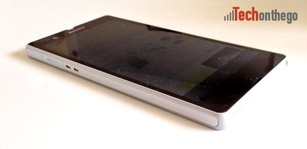 xperia z left side