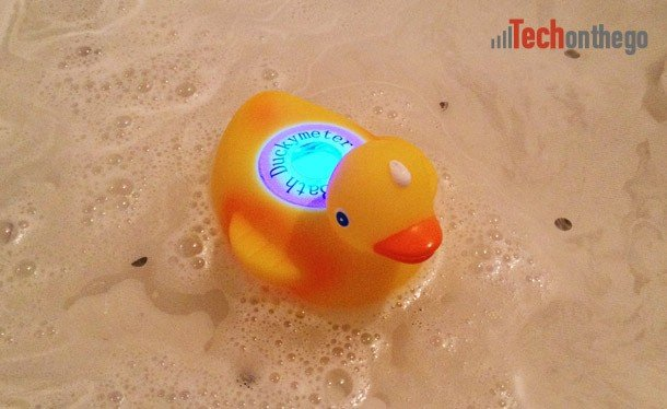 ozeri temperature duck - indicating water too cold