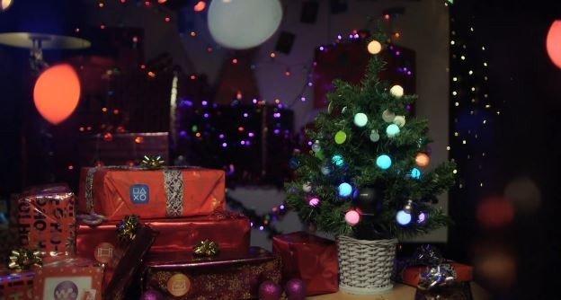sony nfc christmas tree