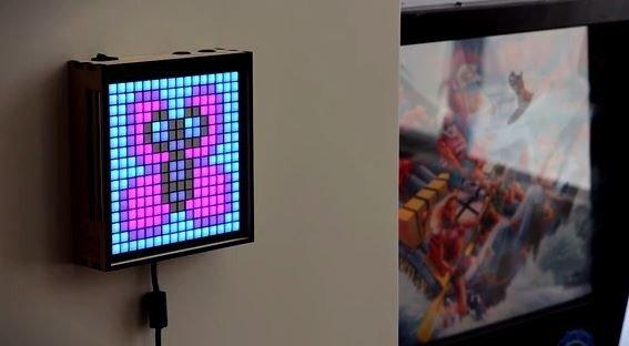 game frame pixel art