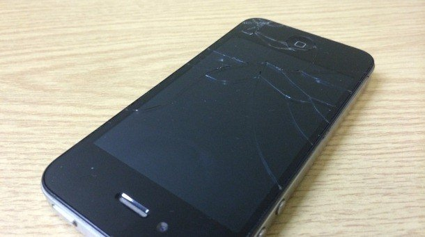 iphone4 smashed screen