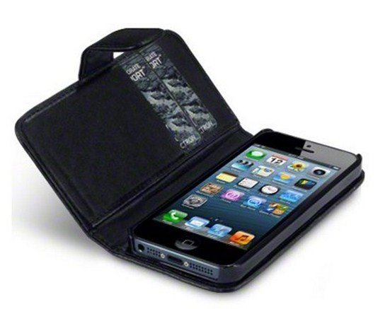 iPhone 5 and 5S Wallet Leather Case - Featured