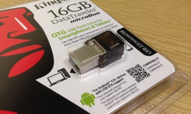 Kingston DataTraveler microDuo - packaging