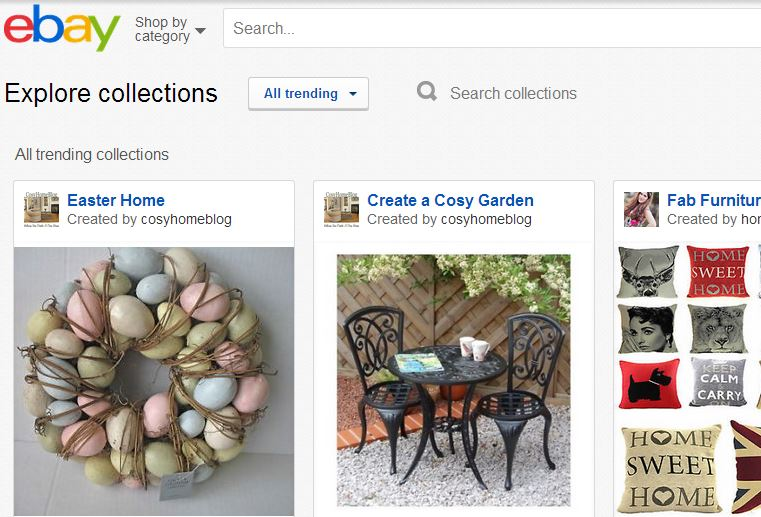 ebay new collections featured