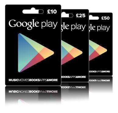 win £80 google play vouchers