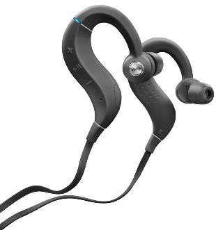 Denon AH-C160W Wireless In-Ear Sports headphones closeup