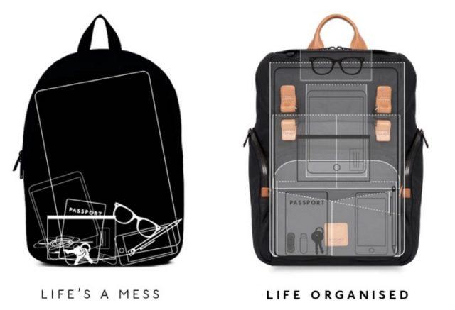 knomo livefree bag - organised life