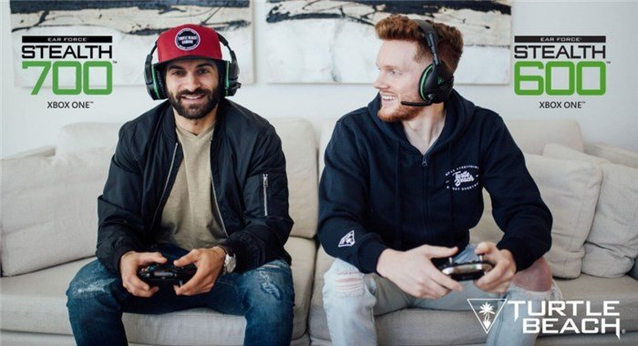 Turtle Beach Launch Stealth 700 & Stealth 600 Series Wireless Gaming Headsets