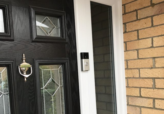 ring doorbell review installed front door
