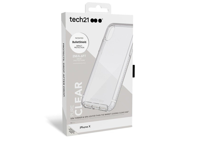 tech21 pure clear iphonex box featured