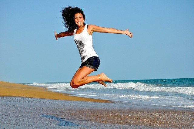 fitness image lady