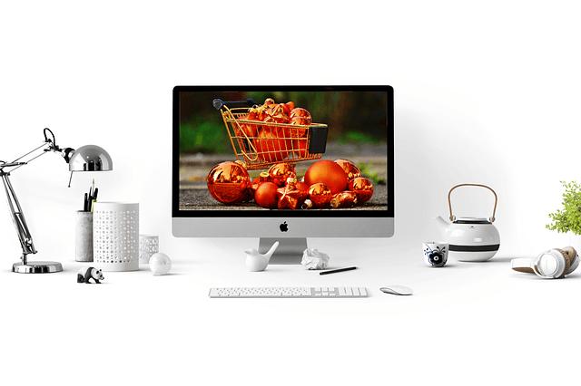 online shopping mac desktop basket