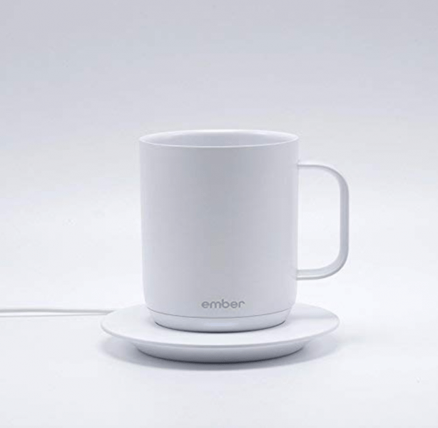 Ember Temperature Control Ceramic Mug and Charging Base