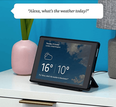Fire HD 8 Tablet with Alexa + Show Mode Charging Dock