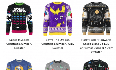 Nerdy Novelty Christmas Jumpers & Sweaters 2018 from Numskull