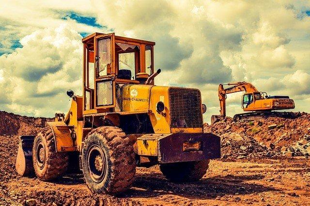 bulldozer construction